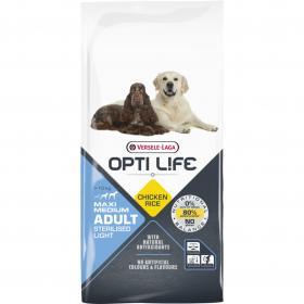 Versele-Laga Opti Life Sterilised/Light Medium&Maxi