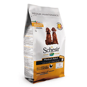 Schesir Dry Dog Medium Piletina