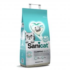 Sanicat Clumping White