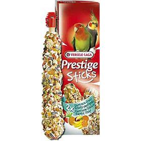 2 Sticks Big Parakeet -  Exotic Fruit