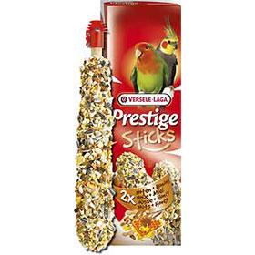 2 Sticks Big Parakeets - Nuts & Honey