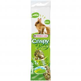 2 Stick Rabbbit&Guinea Pig - Green Meadow