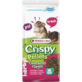 Chinchila / Degu crispy pellets