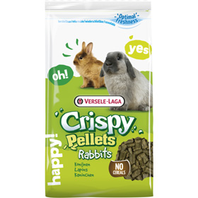 Rabbits crispy pellets