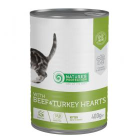 Kitten Beef&Turkey Hearts