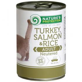 Neutered Turkey, Salmon&Rice
