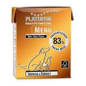 Platinum Menu Iberico + Turkey