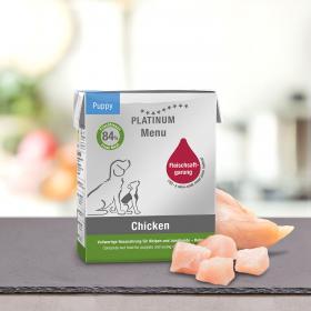 Platinum Menu Puppy Chicken