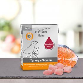 Platinum Menu Turkey&Salmon