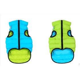 AiryVest dvostrani kaputić: zeleno-plavi