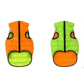 AiryVest dvostrani kaputić: narandžasto-zeleni