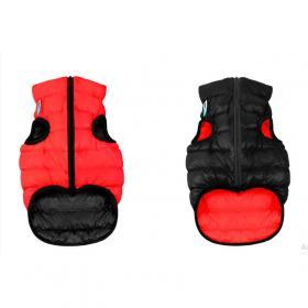 AiryVest dvostrani kaputić: crno-crveni