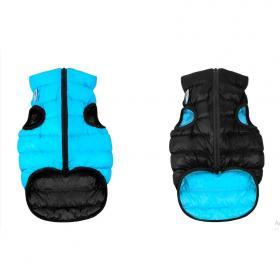 AiryVest dvostrani kaputić: crno-plavi