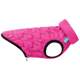 AiryVest UNI dvostrani kaputić: pink-crni